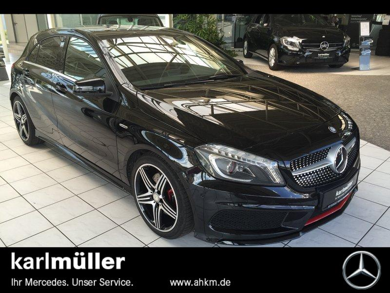 mercedes benz a 250 4matic 7g dct amg line gebraucht. Black Bedroom Furniture Sets. Home Design Ideas
